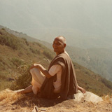 Swami Venkatesananda In The Mountains Outside Los Angeles